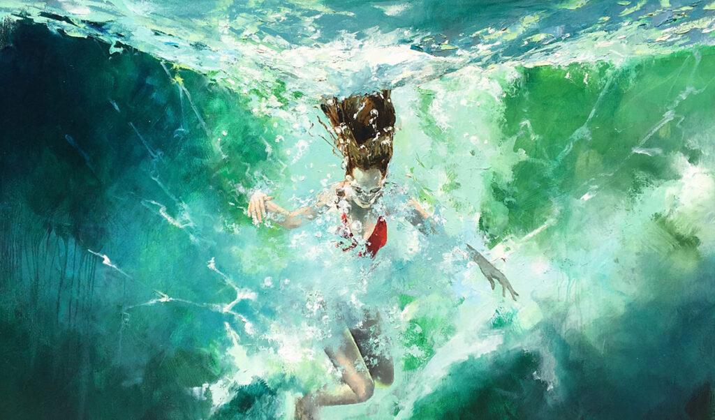 Liz Gray Water Girls Works hero image
