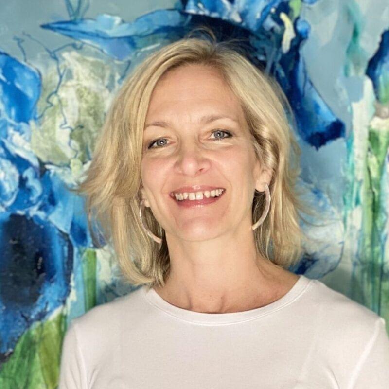Portrait of the artist Liz Gray